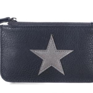 Mini wallet star Black