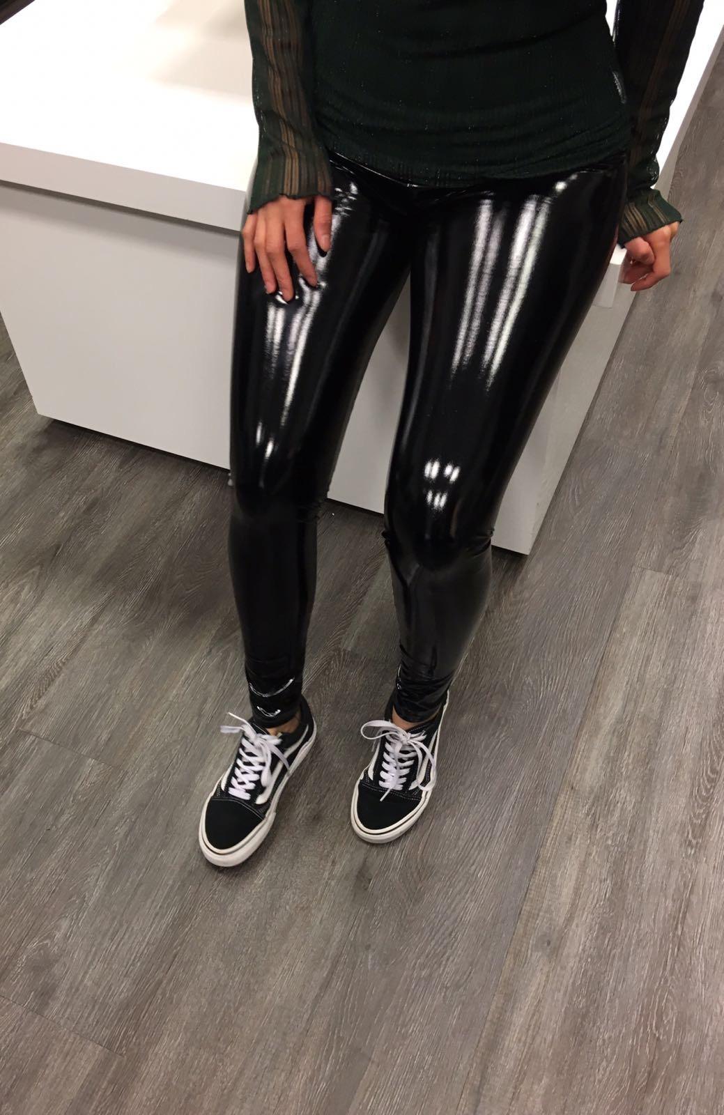 Verbazingwekkend Lak legging black | ClassForLess YJ-51