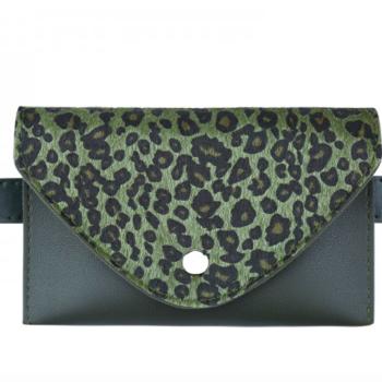 Belt purse wild thing green