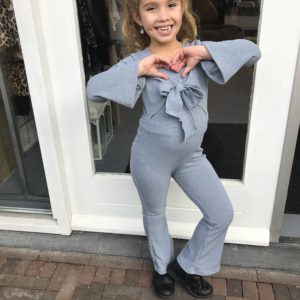 Girls collection jumpsuit grey