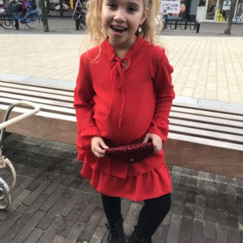 Girls collection tuniek red