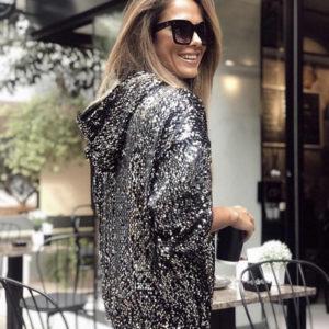 Glitter hoodie