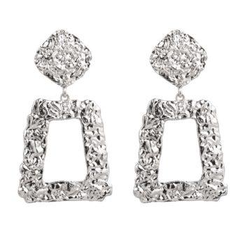 Earrings game on silver