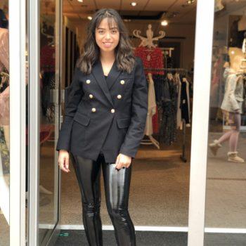 Inspired blazer black