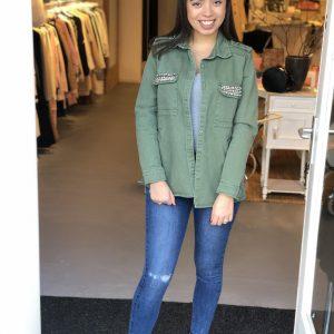 Jacket army green