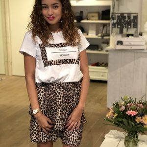 Panter set rok + t-shirt