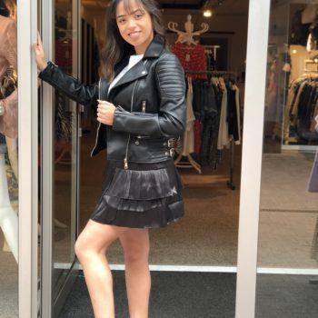 Leather look jack black