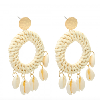 Earrings free as a bird