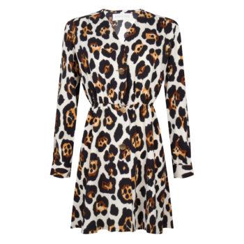 Delousion Dress Milan Leopard
