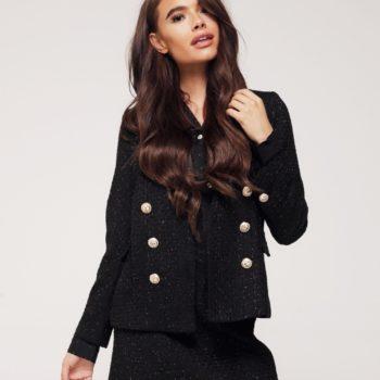 Delousion Jacket Rome Black