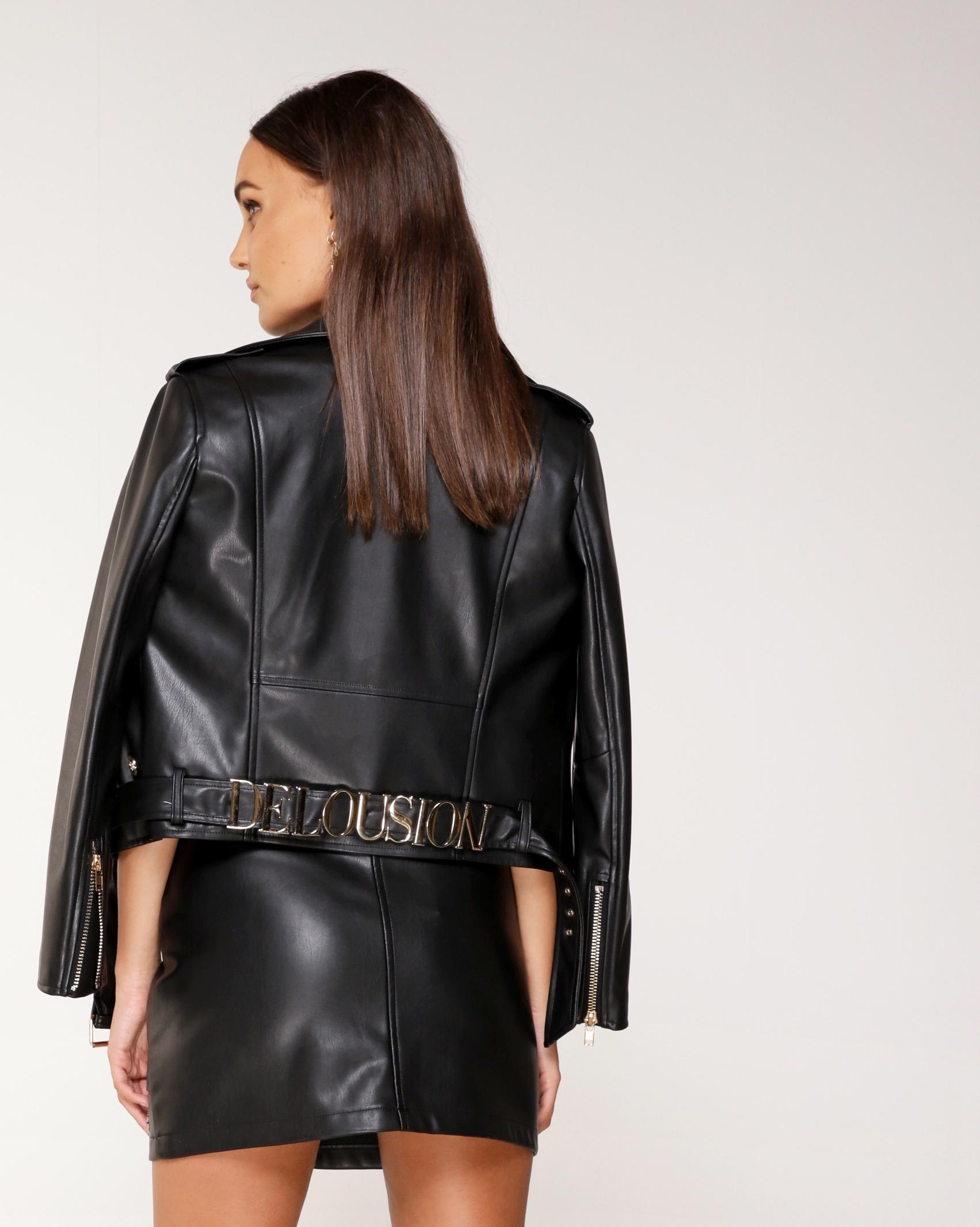 Delousion jacket black