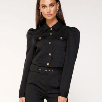 Delousion jacket nona black