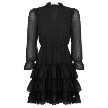 Delousion dress leif black