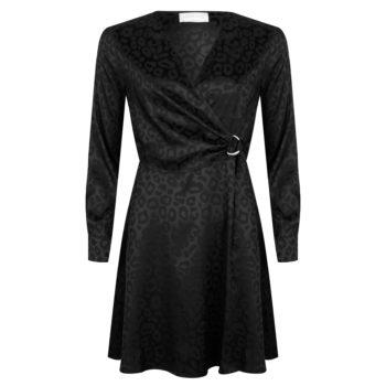 Delousion dress tia black