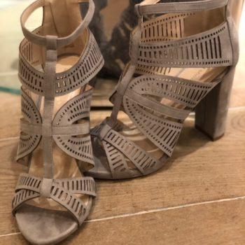 High heels grey