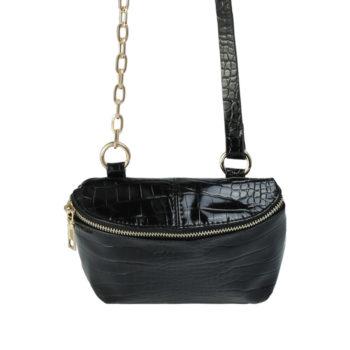 Bag Croc Body Black