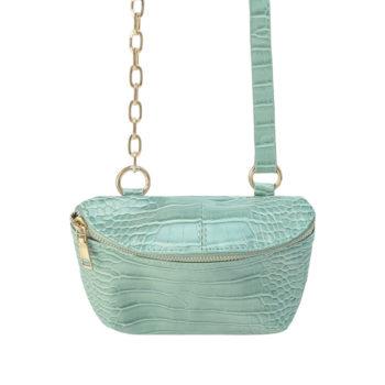 Bag Croc Body Turquoise