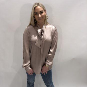 Poeder roze blouse