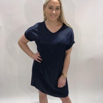 T-shirt dress blue