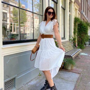 CFL dress white
