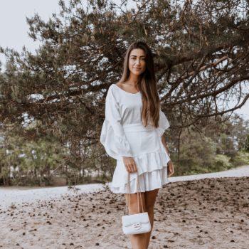 Delousion dress gracie white