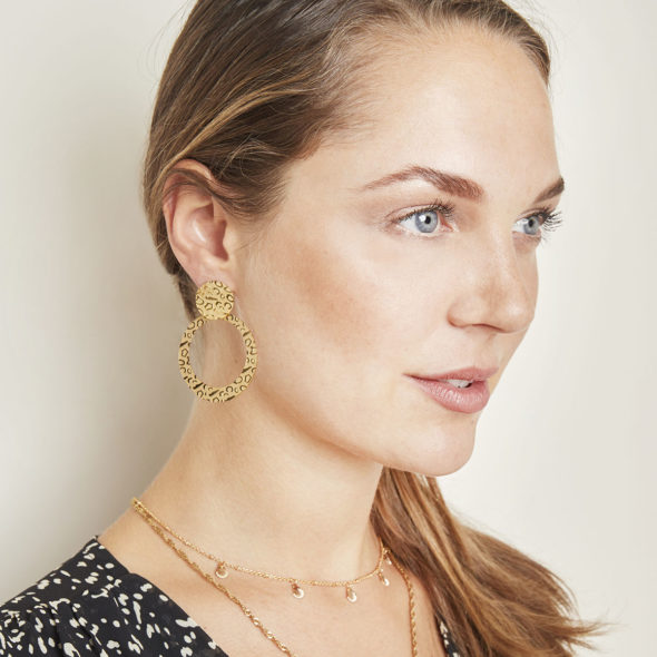 Earrings Animal Kingdom Gold