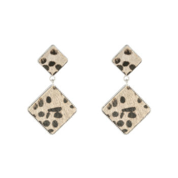 Earrings Fur My Love Beige
