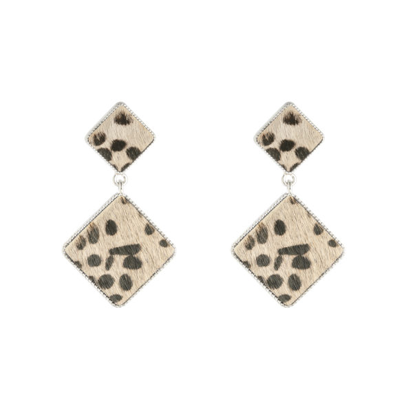Earrings Fur My Love Beige