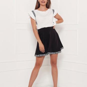 Delousion skirt enzo black