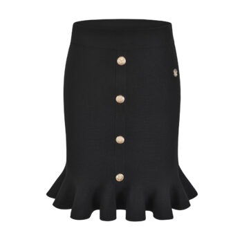 Delousion skirt holly black