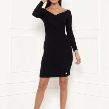 Delousion dress farah black