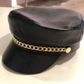 Sailor cap black with gold