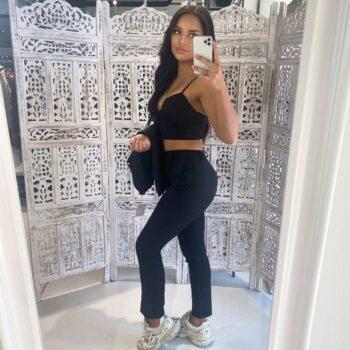 Candice pants black