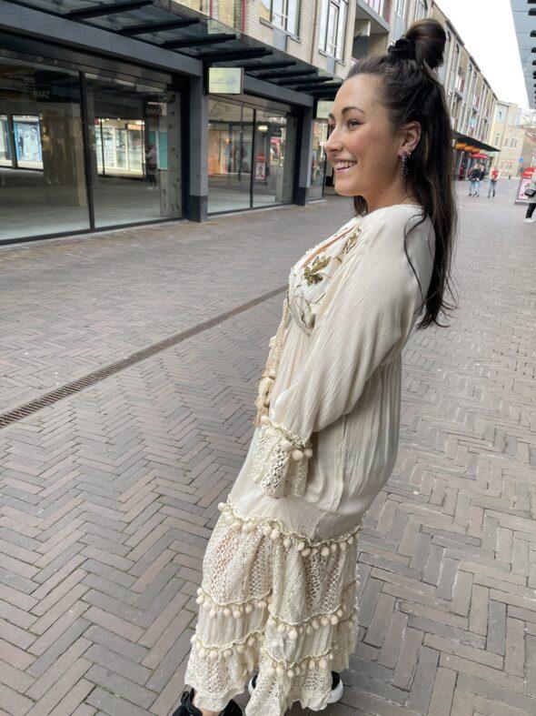 Ibiza dress beige