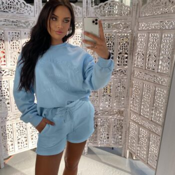 beverly hills sweater blue