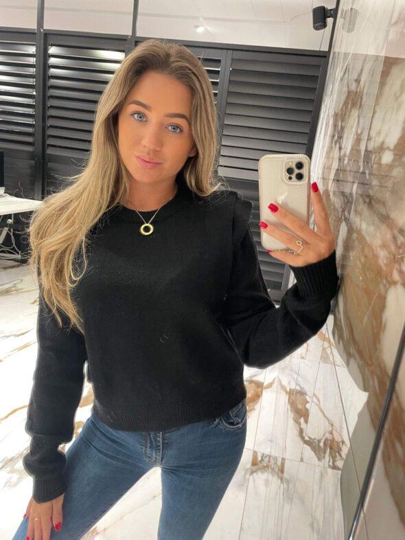 Pof sweater black